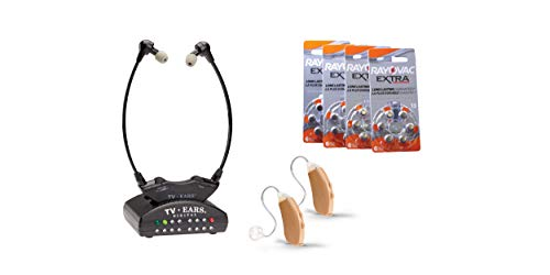 TV Ears Grab-N-Go V2 Hearing Amplifier: Hearing Aid Devices...