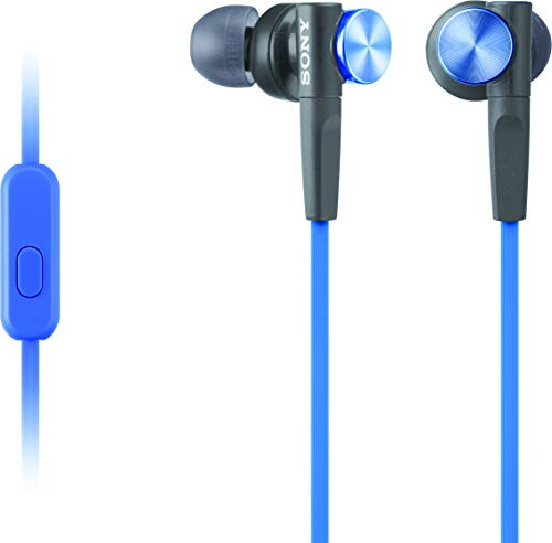 Sony MDRXB50AP Extra Bass Earbud Headphones/Headset with Mic...