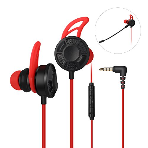 Gaming Earphone, Vogek Stereo E-Sports Earbuds Bass in-Ear...