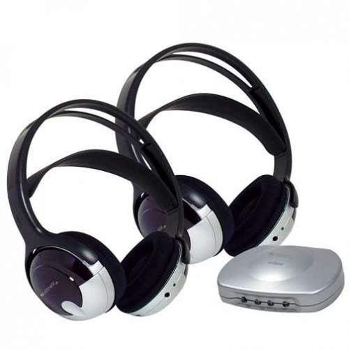 (Set) J3 TV Listener and Two Headsets - Hearing Aid...