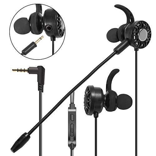 3.5mm Gaming Earbuds with Mic, Insten in-Ear Headset Stereo...