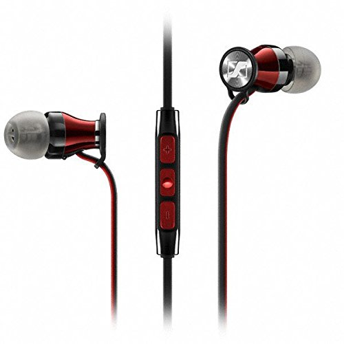Sennheiser HD1 In-Ear Headphones (iOS version) - Black Red...