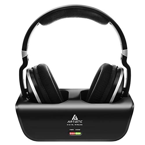 Wireless TV Headphones, Artiste ADH300 2.4GHz Digital...