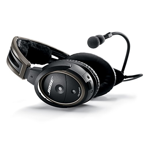 Bose A20 Aviation Headset with Bluetooth Dual Plug Cable,...
