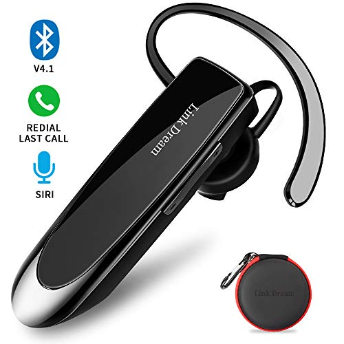 Bluetooth Earpiece Link Dream Wireless Headset with Mic...