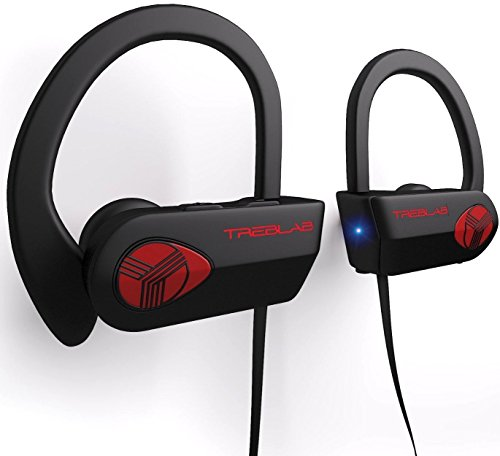 Treblab - XR500 Bluetooth Running Headphones with Microphone...