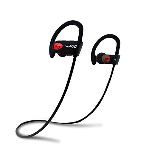 SENSO Bluetooth Headphones, Best Wireless Sports Earphones...