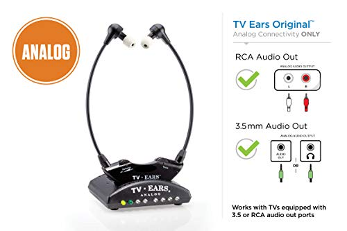 TV Ears Original Wireless Headsets System, TV Hearing Aid...