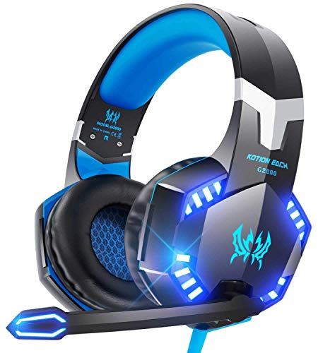 VersionTECH. G2000 Gaming Headset for PS5, PS4, PC, Xbox...