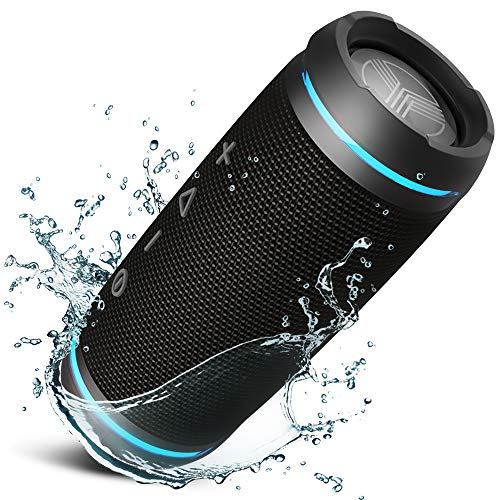 TREBLAB HD77 - Ultra Premium Bluetooth Speaker - Loud 360°...