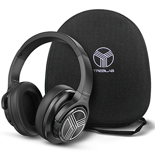 TREBLAB Z2 | Over Ear Workout Headphones with Microphone |...