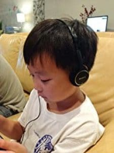Sony MDR-222KD for children