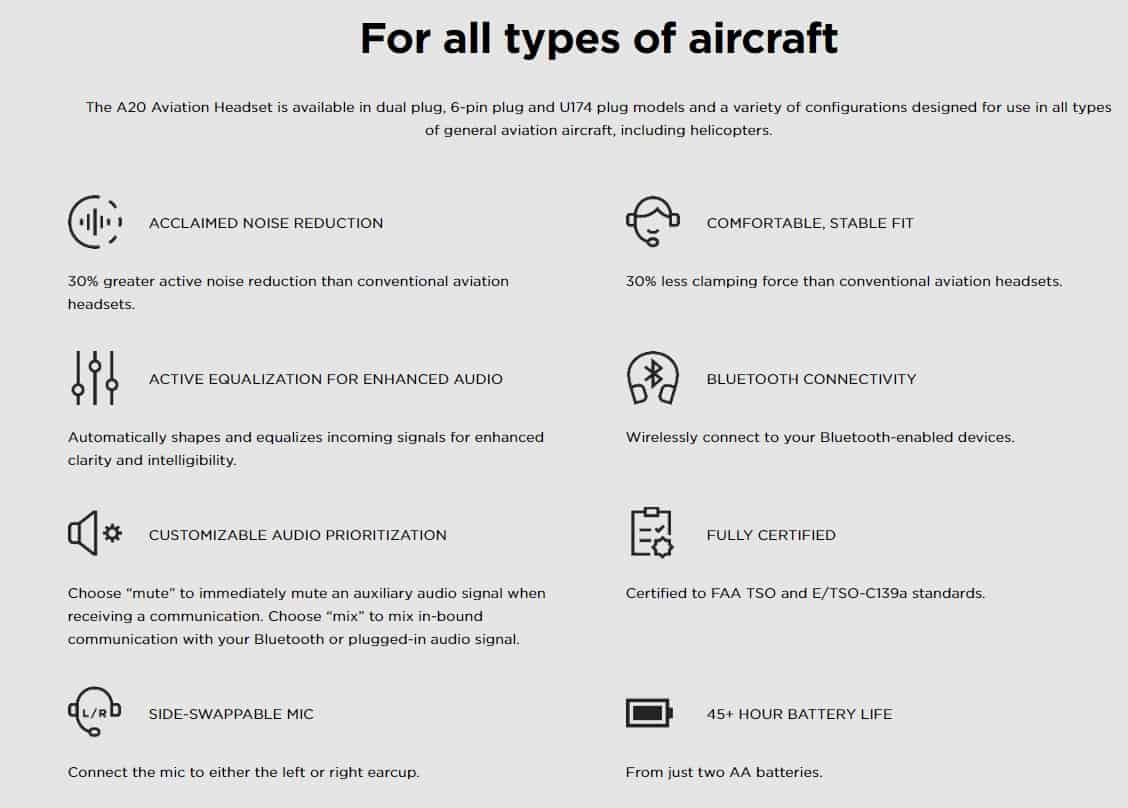 For all types of aircraft