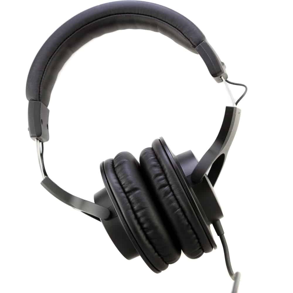 Professional Studio Monitor Closed Back Headphones Under $200 on white background
